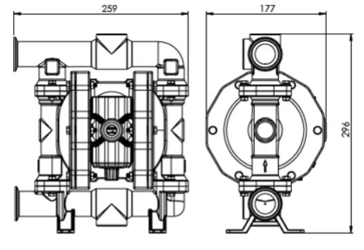 f120 dimensions